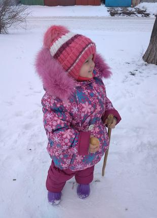 Зимний шикарный костюм
