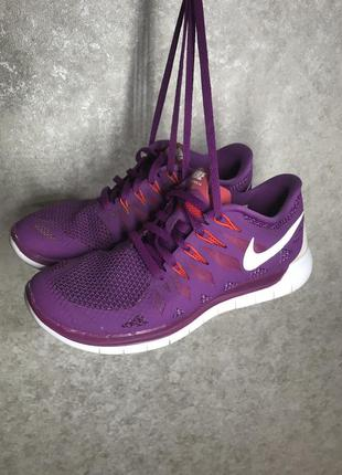 Nike free 5.0 оригинальные женские спортивные кроссовки