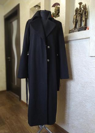Пальто шерсть havana