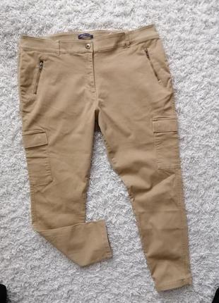 Классные женские джинсы брюки m&s 22 (50) в новом состоянии