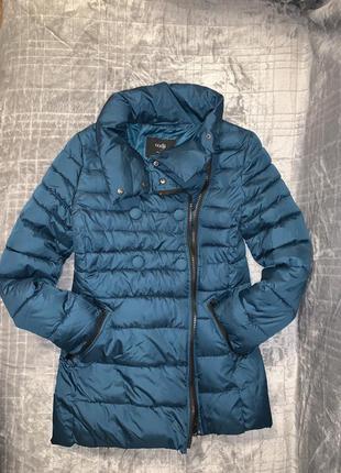 Куртка женская зелёная oodji