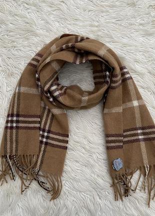 Кашемировый винтажный новый шарф belvedere австрия