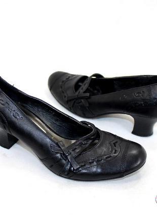 Туфли 37 р janet d германия кожа оригинал