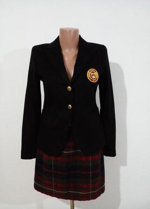 Шерстяной пиджак в клубном стиле  gant