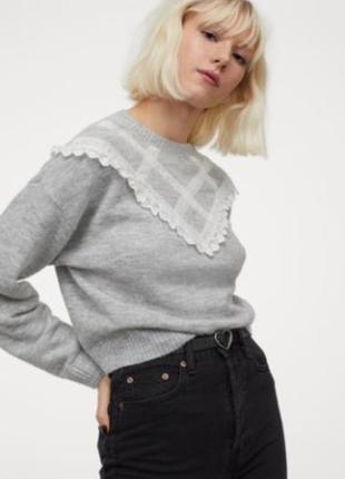 Новый джемпер, свитер h&m. размер m.