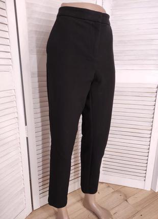 Теплые чёрные брюки m&s