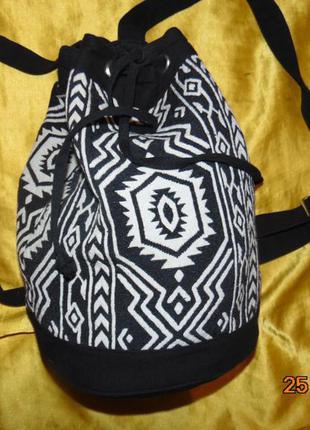 Стильная фирменная катоновая сумка рюкзак atmosphere атмосфера