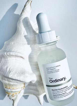Ультралегка сироватка marine hyaluronic від the ordinary