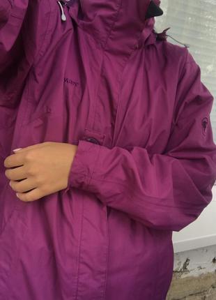 Куртка ветровка спортивная штормовка mammut dry tech