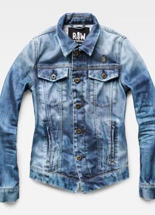 Джинсовая куртка  g star raw 3301 occotis   by pharell.линейка raw for the oceans от фаррелла вильямса.оригинал