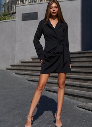 Платье гермиона черный - jadone fashion