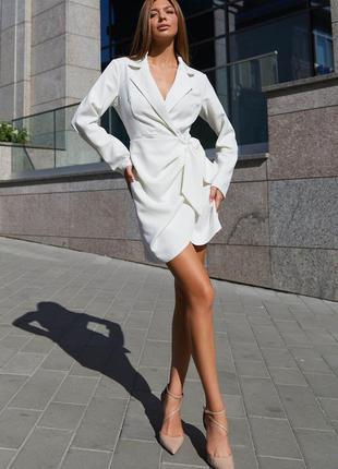 Платье гермиона белый - jadone fashion