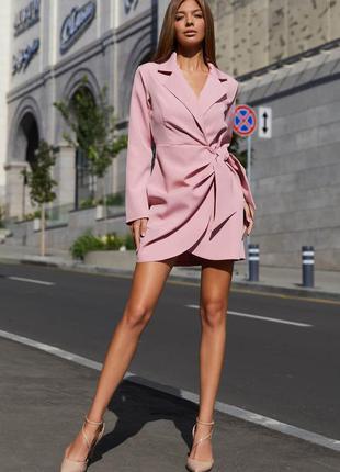 Платье гермиона пудра - jadone fashion