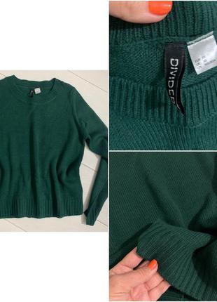 Продам свитер зеленый модный