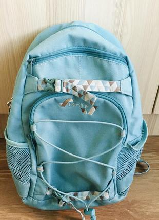 Рюкзак dakine сумка бирюзовый голубой женский подростковый мягкая спина декайн