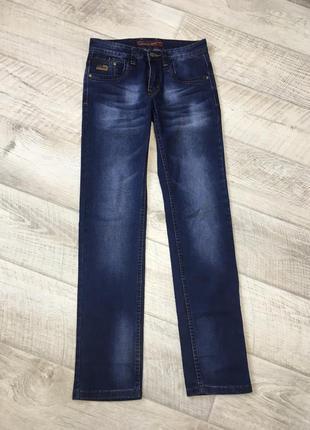 Темно-синие прямые джинсы diesel 32/34