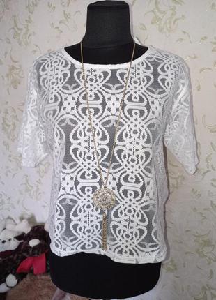 Блуза топ  uk10