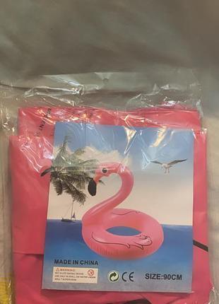 Плавательный круг розовый фламинго с сша
