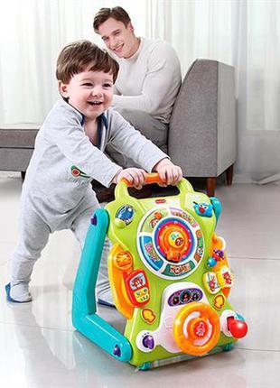 Детские ходунки-каталка hola toys игра и развитие