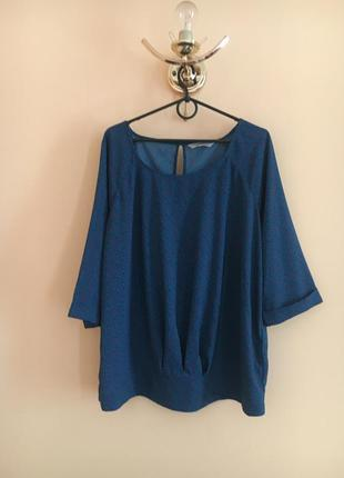 Батал большой размер стильная шифоновая блуза блузка блузочка кофта кофточка