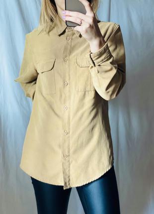 Бежева приємна жіноча сорочка