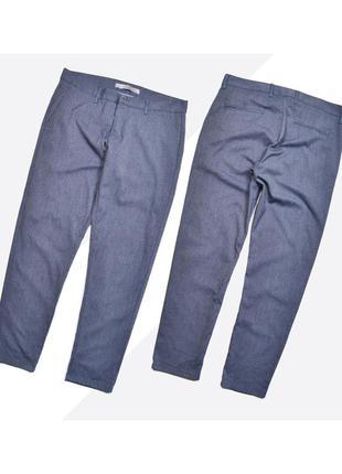 Zara 30 / лёгкие стильные укороченные брюки