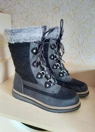 Высокие ботинки утеплённые bench waterproof