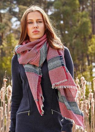 Шикарный тканый шарф-шаль