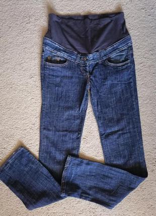 Прямые джинсы для беременных benetton, на высокий рост, в идеале