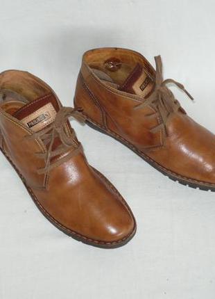Pikolinos испания качество демисезонные ботинки натуральная кожа шкіряні черевики