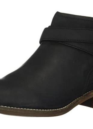 Clarks женские деми кожаные ботинки р.39.5, 40 оригинал