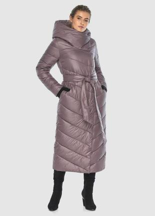 Пудровая практичная куртка
