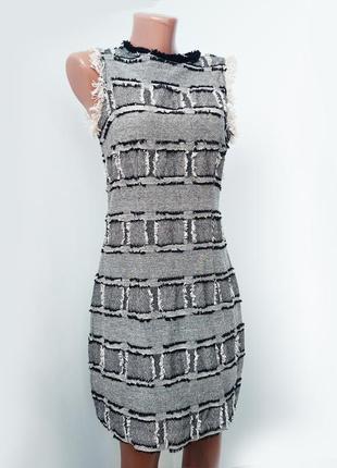 Базовое теплое платье  в клетку/ тренд сезона !