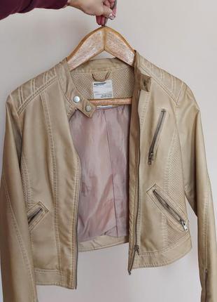 Куртка из кожзама broadway