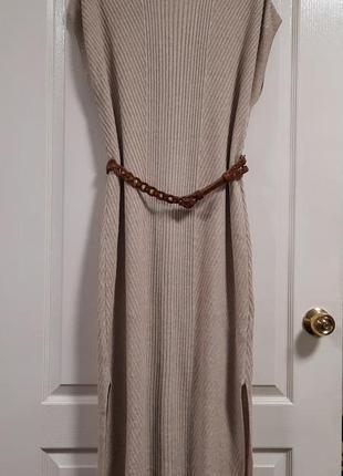Платье massimo duty (вискоза+лен)