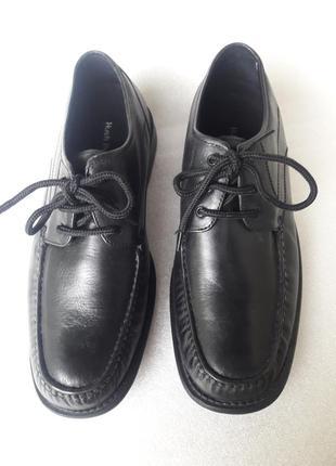 Hush puppies (сша) нові шкіряні утеплені м'які туфлі (устілка 28, 5 см) 44 р. на середю ногу