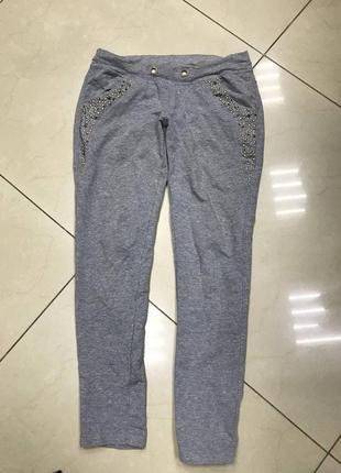 🆘🔥последняя цена до 30 сентября 🆘🔥 серые трикотажные штаны