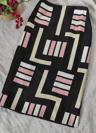 100% шелковая юбка