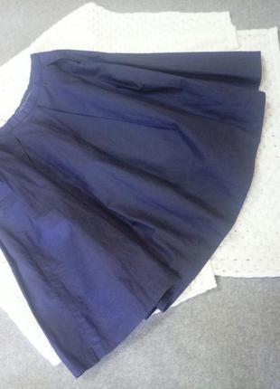 Синяя юбка на талию р. xc