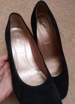 Натуральные туфли  gabor 41р
