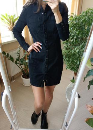 Джинсовое платье h&m/сукня