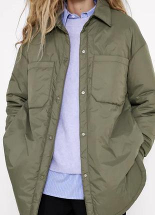 Куртка рубашка від zara