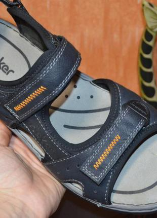 46 р. европа🇪🇺 rieker  . фирменные качественные комфортные сандалии