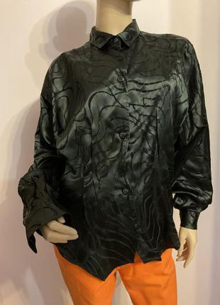 Стильная итальянская свободная блузка/m/brend benetton