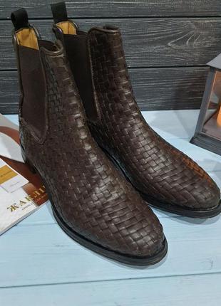 Шикарные челси ботинки на 40-41 размер melvin & hamilton