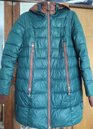 Куртка зимняя женская 48-50 размер