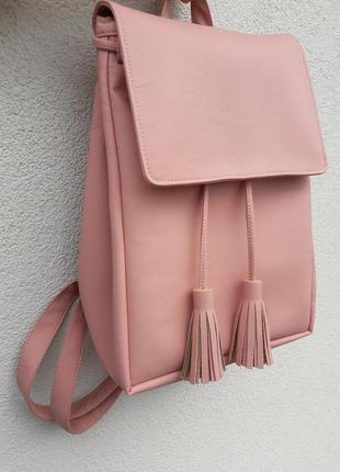 Женский рюкзак sambag loft пудра