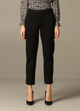 Актуальные укороченные черные женские брюки классика классические женские брюки демисезонные женские штаны на осень женские штаны классика