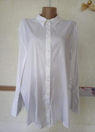 Белая базовая рубашка р.16 white label