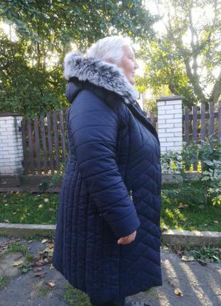 Куртка плащ., зимовий, теплий.